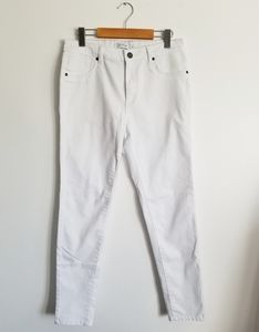 MyStyle white stretch jeans